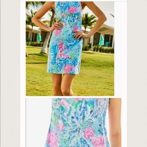 Beautiful Lilly pulitzer dress gorgeous colors !